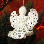 Миниатюра к статье Рождественский ангел на новогоднюю ёлку своими руками