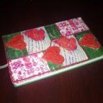 Миниатюра к статье Как украсить блокнот сердечками из соленого теста