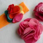 Миниатюра к статье Брошь из фетра «Роза»