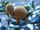 Миниатюра к статье Вязаная черепаха амигуруми - тонкости вязания крючком