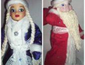 Миниатюра к статье Дед Мороз и Снегурочка под елку: как сделать из подручных средств своими руками?
