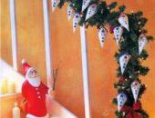 Миниатюра к статье ТОП-10: Новогодние гирлянды своими руками не только из бумаги