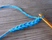 Миниатюра к статье Учимся вязать воздушные петли крючком