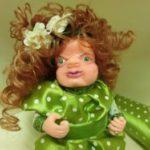 Миниатюра к статье Кукла из полимерной глины своими руками