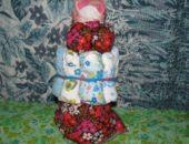 Миниатюра к статье Текстильная кукла оберег на беременность своими руками