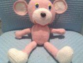 Миниатюра к статье Вязаная игрушка обезьяна крючком своими руками