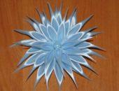 Миниатюра к статье Делаем хризантему канзаши своими руками