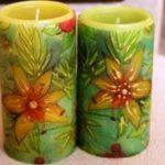 Миниатюра к статье Оригинальный подарок: свечи своими руками