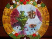 Миниатюра к статье Декоративная тарелка из соленого теста, мастер-класс