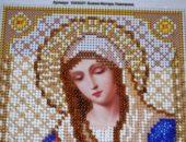 Миниатюра к статье Учимся вышивать икону бисером в технике полукрест